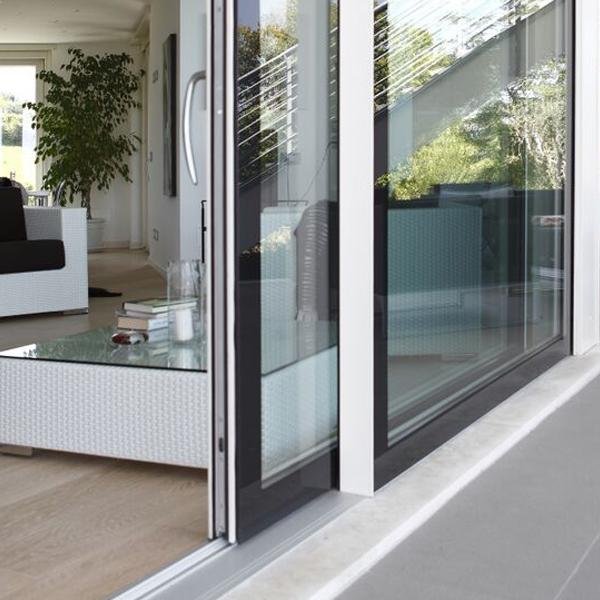 Porte finestre di design italserramenti - Vetri colorati per finestre ...