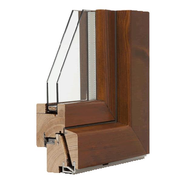 Finestre in legno su misura italserramenti - Finestre in legno lamellare ...