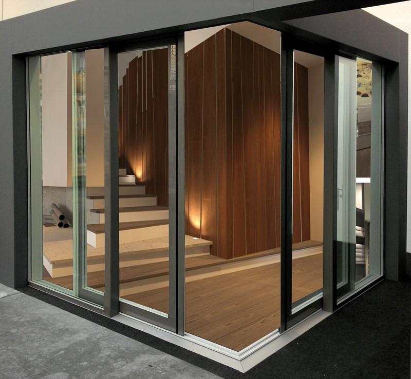 Finestre in vetro produzione porte finestre in legno vetro italserramenti - Finestre in legno con doppio vetro ...