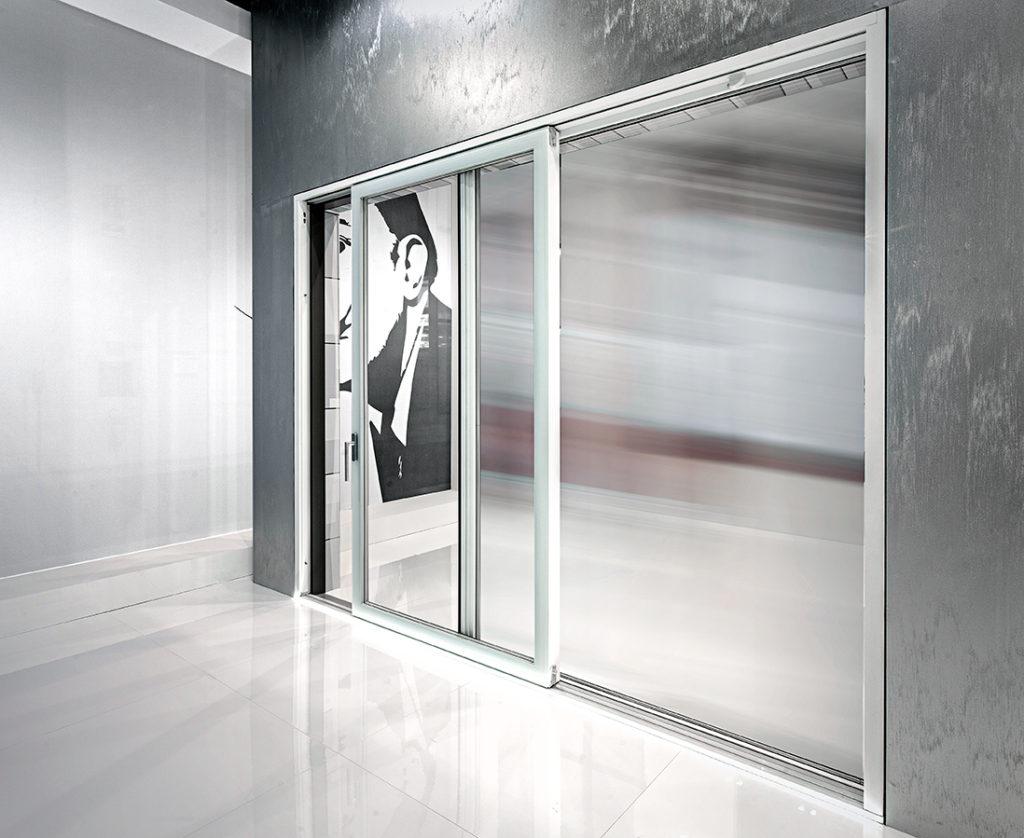 Finestre in vetro produzione porte finestre tutto vetro - Finestre scorrevoli in vetro ...