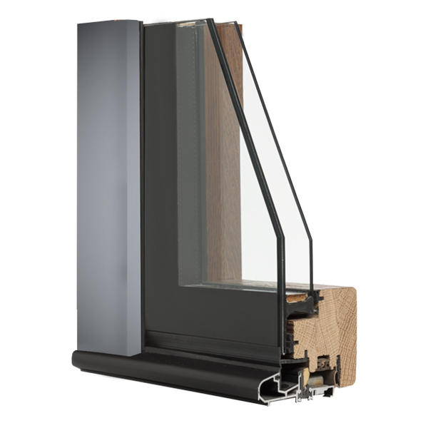 Porte finestre serramenti in legno vetro italserramenti - Finestre in legno con doppio vetro ...